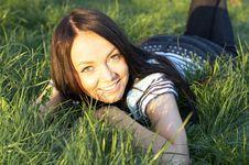 Free Teen Girl Lays Stock Image - 3675231
