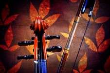 Free Violin Details Stock Images - 3675254