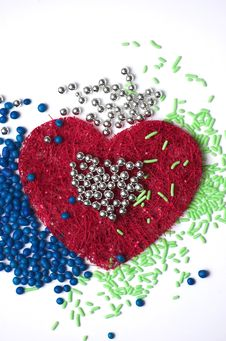 Free Multicolour Heart Abstract Stock Photography - 3675542