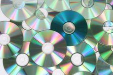 Free Blue CD Stock Photos - 3675813