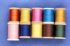 Free Sewing Threads Royalty Free Stock Photo - 3675995