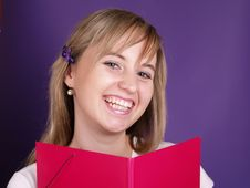 Smiling Female Student Stock Photos