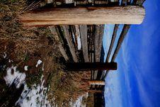 Free Colter Corral Fence Stock Photos - 3677333