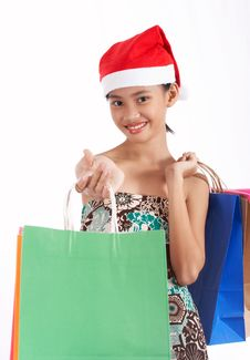 Free Shopping Bags Royalty Free Stock Images - 3677669