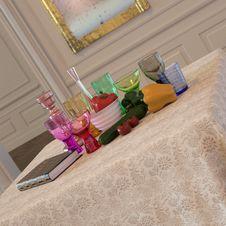 Free Modern Still Life In Elegant Interior Stock Photos - 3678353