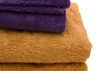 Free Bath Towels Royalty Free Stock Image - 3678436