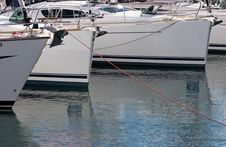 Free Luxury Boats Royalty Free Stock Photo - 3678545