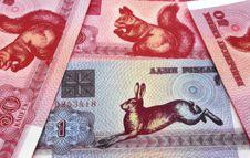 Free Money Of Republic Belarus. (Background). Stock Photo - 3678550