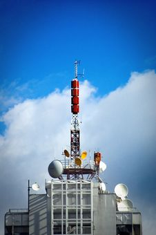 Free Communications Tower Stock Photo - 3678940