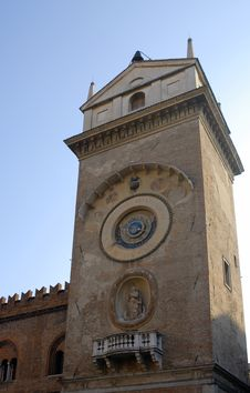 Free Medieval Tower In Mantua Stock Photography - 3679022