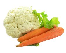 Free Cabbage And Carrot Vegetables Stock Photos - 3679093