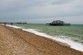 Free West Pier Ruins, Brighton Beach, England Stock Photos - 36705703