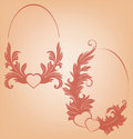 Free Valentine&x27;s Background  Heart  Floral Motif Stock Image - 36706811