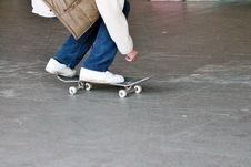 Free Skateboard Teenager In Skate Park Royalty Free Stock Photos - 36700238