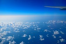Free View From The Airplane Window Royalty Free Stock Images - 36701149