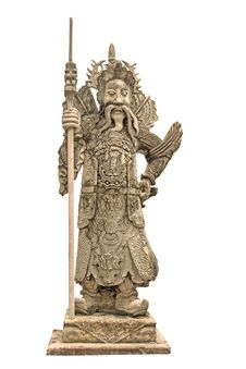 Free China Dolls, Statues Church Door. Stock Photography - 36704602
