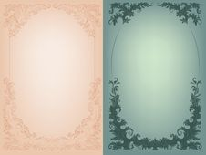 Free Vintage Background  Rich Baroque Decoration Stock Photography - 36706792