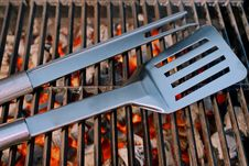 Free Barbeque Utensils XXXL Stock Photo - 36708240