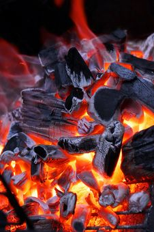 Free Open Fireplace Royalty Free Stock Photography - 36708907