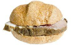 Free Hamburger Royalty Free Stock Image - 36708966