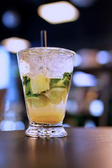Free Mojito Cocktail Royalty Free Stock Image - 36709556