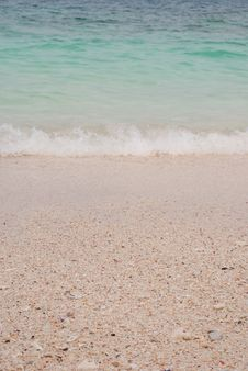 Free Beach Sand And Sea Water Stock Photo - 36713970