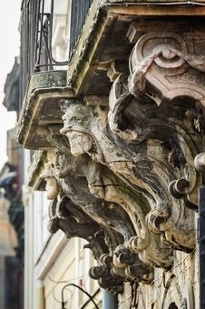 Gargoyles In Lviv, Ukraine Royalty Free Stock Photography