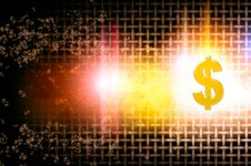 Currency Dollor Rising Stock Photography