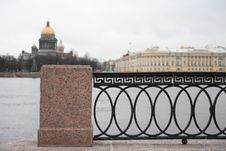 Embankment In St. Petersburg Stock Photos