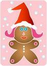 Free Santa Gingerbread Girl Stock Photography - 3680252