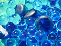 Free Blue Gems & Bubbles Stock Photos - 3680813