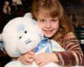 Free Me And My Teddy Bear Royalty Free Stock Photography - 3687947