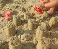 Free Building Sand Towers Stock Photos - 3688923