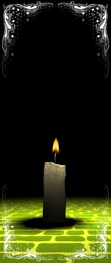 Free Candle Light Royalty Free Stock Image - 3680006