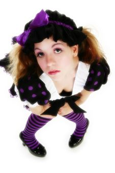 Doll Costume Stock Photography