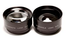 Free Old Lenses Set Royalty Free Stock Images - 3680599