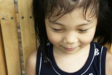 Free A Shy Girl Stock Images - 3680694