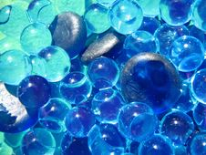 Free Blue Gems & Bubbles Stock Photos - 3680813