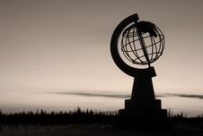 Free Polar Globe Stock Image - 3680851