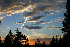 Free Northwest Sunset Royalty Free Stock Photo - 3680895