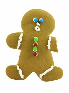 Free Gingerbread Man Stock Photos - 3681443