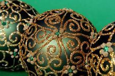 Free Christmas Balls Ornament Royalty Free Stock Photography - 3681567