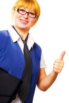 Free Mature Businesswoman Royalty Free Stock Image - 3681686