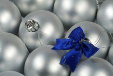 Free Blue Bow Royalty Free Stock Photo - 3681885