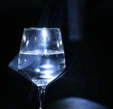 Free Glass In The Dark Royalty Free Stock Photo - 3682055