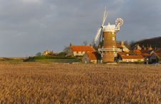 Free Cley Windmill Stock Image - 3682111