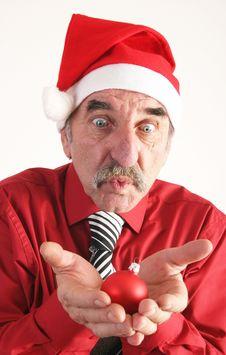 Free Santa Man Stock Image - 3682361