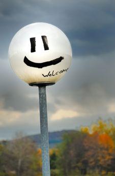 Smiling Lantern No.1 Royalty Free Stock Images