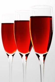 Free Glasses With Red Wine Royalty Free Stock Photos - 3683328