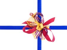 Bow With Ribbon Royalty Free Stock Photography